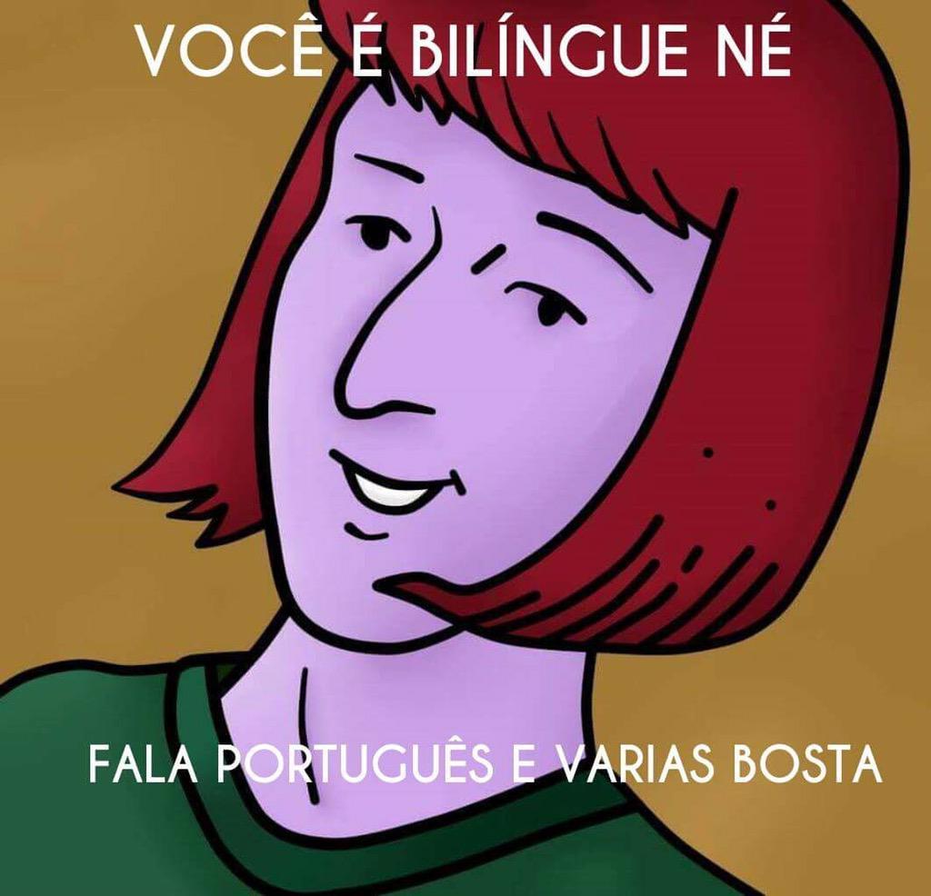 Conheço muitos bilíngues! http://t.co/AUWfAFOMJJ