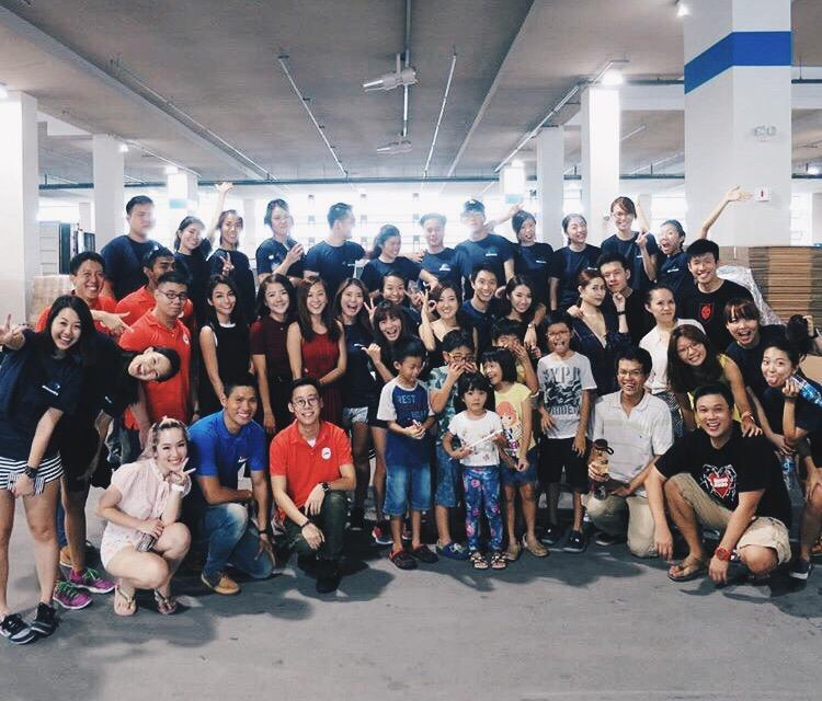 Spent our Sunday morning funpacking! Great job everyone! We managed to pack over 4000 #SG50 funpacks in 2 hours