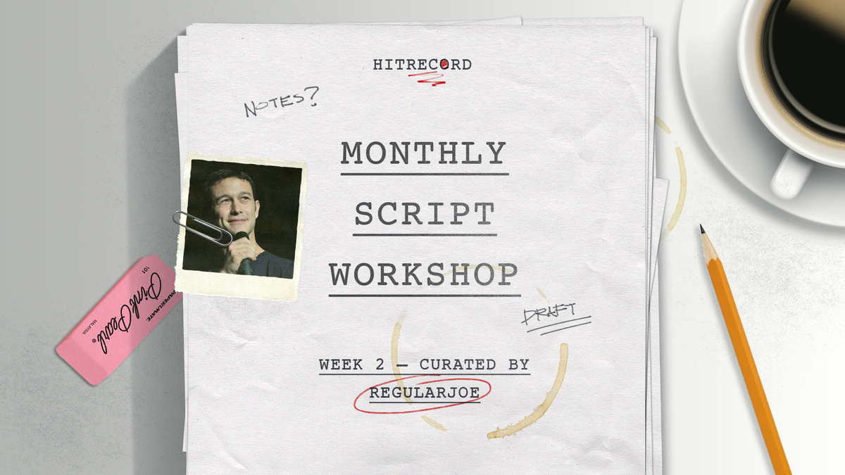 RT @hitRECord: WRITERS! Come work on this screenplay we're making together: http://t.co/aM10AG1Uui http://t.co/VFvVdZyee3
