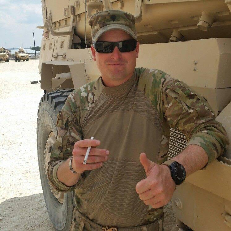 My Army boy Jim McCain, in Afghanistan. Proudly serving and safely home a few weeks ago. http://t.co/MFBIzJ4OiX