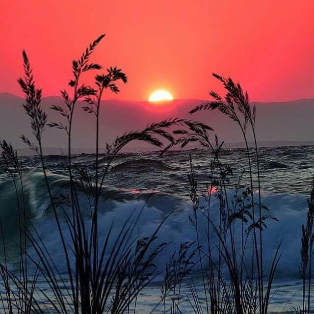 Sunset ... via C. Williams. http://t.co/d8fxVv3vna