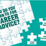 Sometimes we find ourselves confused and we look for career advice from somebody. Who do you turn to for such advice?