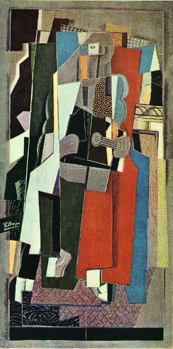 "Georges Braque, Il Musicista, 1918 http://t.co/RPHhiywF0A""  RT @BoutrosTekeyan Via @cozmicbaz @BertassoClaudio"