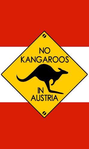 オーストリアのウィーン国際空港には入国すると直ぐにこの看板が掲示してあります。行き先乗り間違えへの警告ですね。 http://t.co/WRED2WeAAn