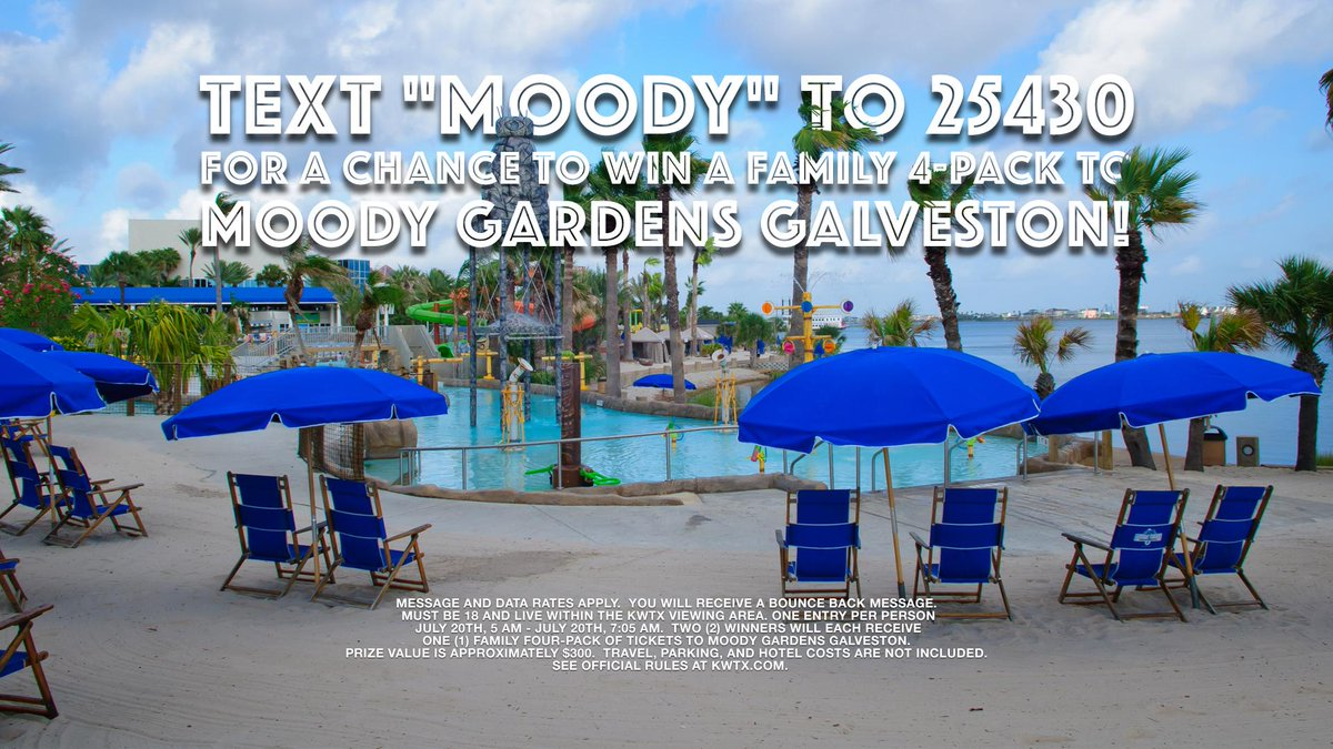 Win Tickets To Moody Gardens! Contest Ends At 7:05 AM