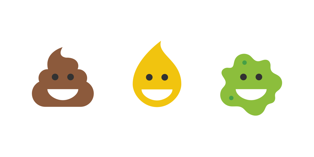 The happy poop icon was lonely, so I made […] happy pee, and happy vomit. https://t.co/rvuPxUvzek http://t.co/Oja14BAKUS