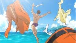 #海の日だから水着の画像を貼ろう サカキ様 http://t.co/5QiqCRIsLW