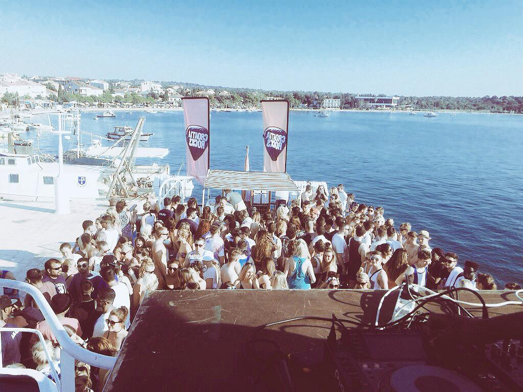 Yesterday was a great start to @croatiarocks boat party with @toyboyrobin and the fam @DJOLI_P @DJK1R3Y http://t.co/Rs2pLjSgRd