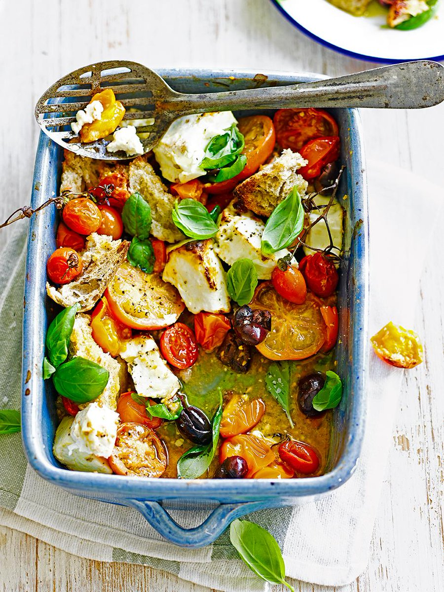 One-tray suppers are the busy cook's best friend - try this baked feta delight #MeatFreeMonday http://t.co/DjwsSdbxbC http://t.co/tPN1yPNGLg