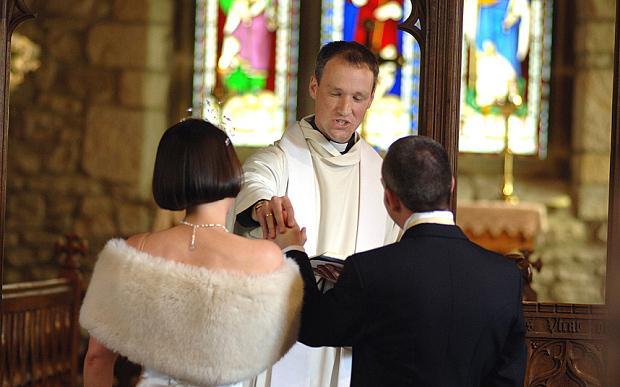 Wedding ceremony words  The Church of England