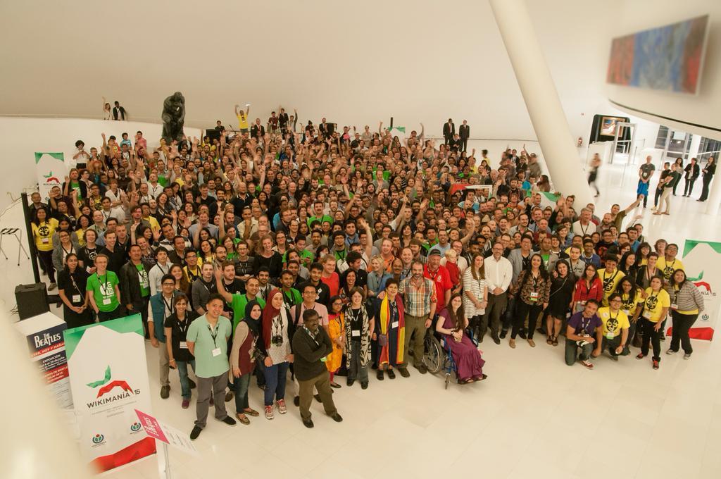 Gracias a todos y todas por venir a #Wikimanía. Sigamos construyendo un mundo con conocimiento libre. http://t.co/qAzKxo8p34