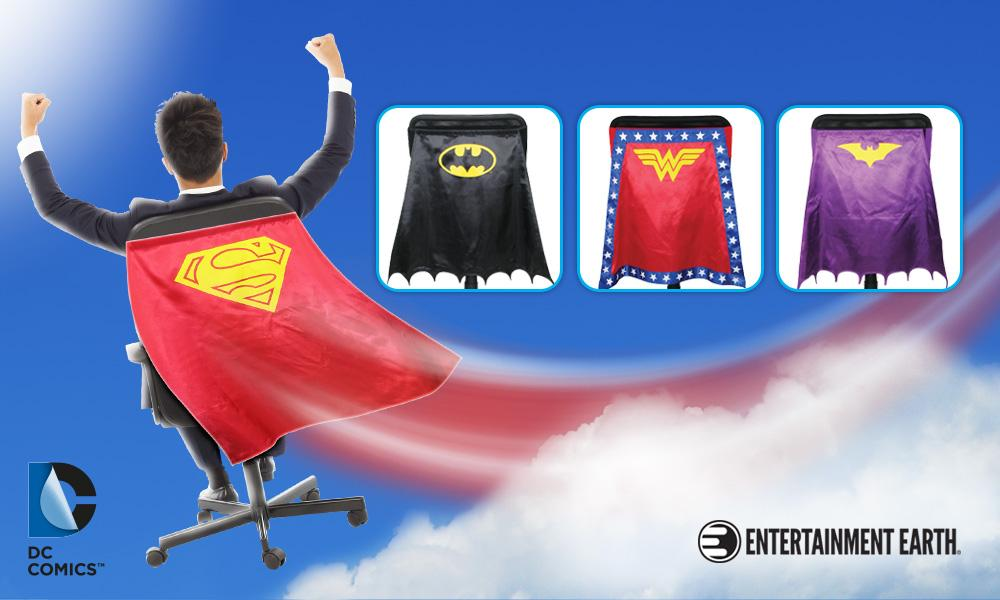 Be the hero your office deserves w/ new #DCComics Chair Capes™! Read more: http://t.co/zMtbiAXnD9 #iCollectatEE http://t.co/5YcpjG4KJT