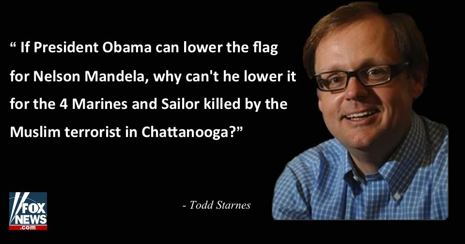 .@ToddStarnes: Do the Right Thing, Mr. President — Lower the Flag http://t.co/KLu9G0hLur http://t.co/iLmZsvYVUM