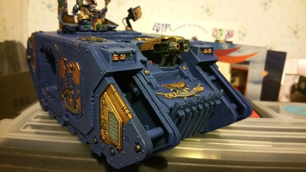 So, I got a few more bits done on this. Headlamps, engines and sensor lights.  Started on left door. #miniaturemonday http://t.co/AMiWpMfCUi