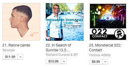 Great stuff! In Search Of Sunrise 13.5 by @Richard_Durand & @BT climbs to #22 U.S. iTunes! https://t.co/gsONvlULn7 http://t.co/shun3je7VW