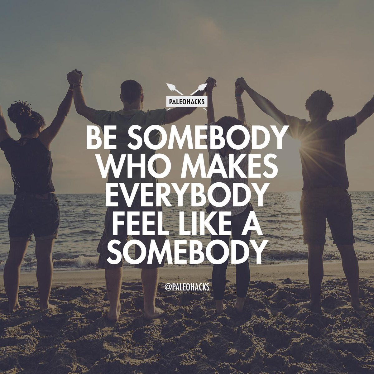 Be somebody who makes everybody feel like a somebody #MondayMotivation http://t.co/kde0mBYyTI