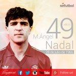 ¡Feliz cumpleaños a M. Ángel Nadal! 🎂 El manacorí, 62 veces internacional con la @SeFutbol, cumple 49 años. http://t.co/dAMYUJ35Po