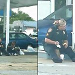 Wonderful act of kindness: Police officer shares meal with homeless man: http://t.co/3CD1DMEvnt http://t.co/E2slMAWuf2