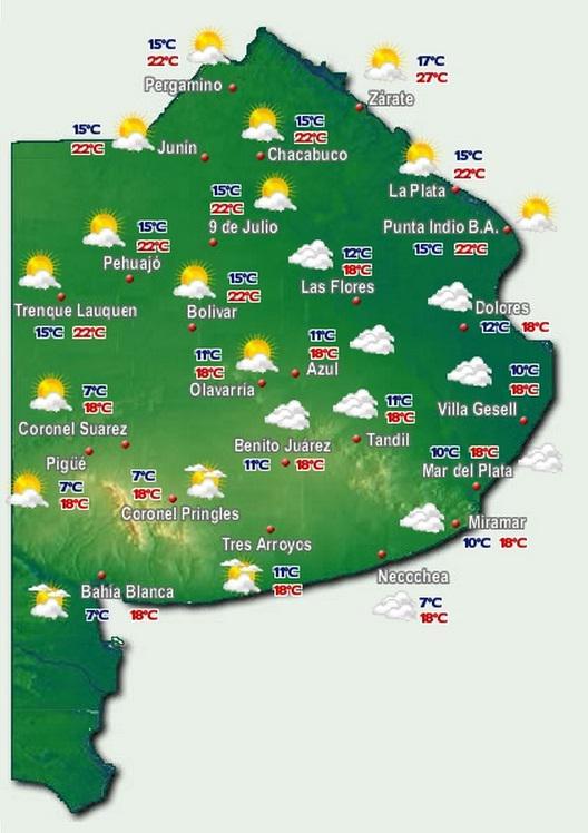 El tiempo buenos aires ahora 16 c m xima para hoy - Temperatura terrassa ahora ...