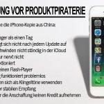 Chinesische Fabrik fälschte 41.000 iPhones: So erkennen Sie die Fake-Produkte #iPhone #Apple http://t.co/XbQAEUj74h