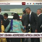 .@POTUS addresses Africa Union this morning http://t.co/Cp8cZiS5U2