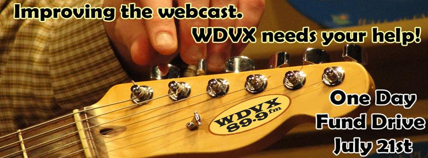 Listener Supported WDVX needs your help during our One Day Fund Drive 7/21! Get more info here http://t.co/xewrX4Osgs http://t.co/unh7hEgnhM