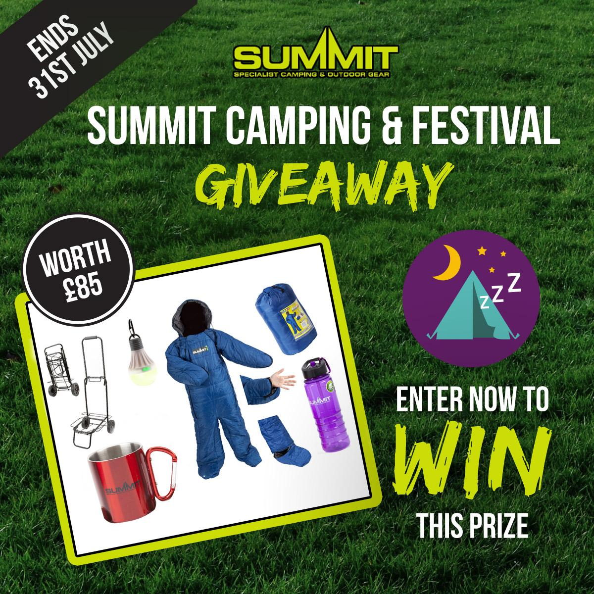 #Competition. #Win a Summit Camping Bundle simply by signing up to our e-newsletter. Enter: http://t.co/sphyXklJLO http://t.co/qd4ntjaSq9