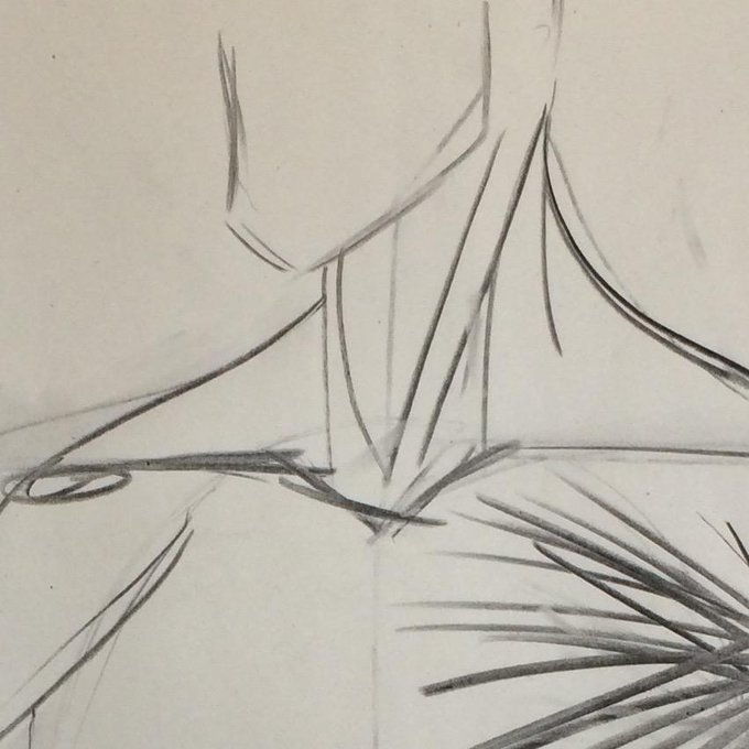Warm up doodles going over the intricacies of the neck muscles http://t.co/33ecSs1BRA