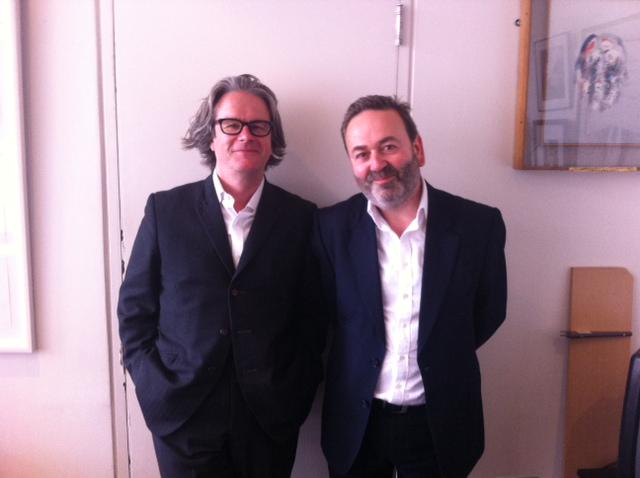 Meet the new Directors of the Abbey Theatre:Neil Murray and Graham McLaren @NTS_Neil @MCLAREN_G #newabbeyDirectors http://t.co/2as6OQaw2z