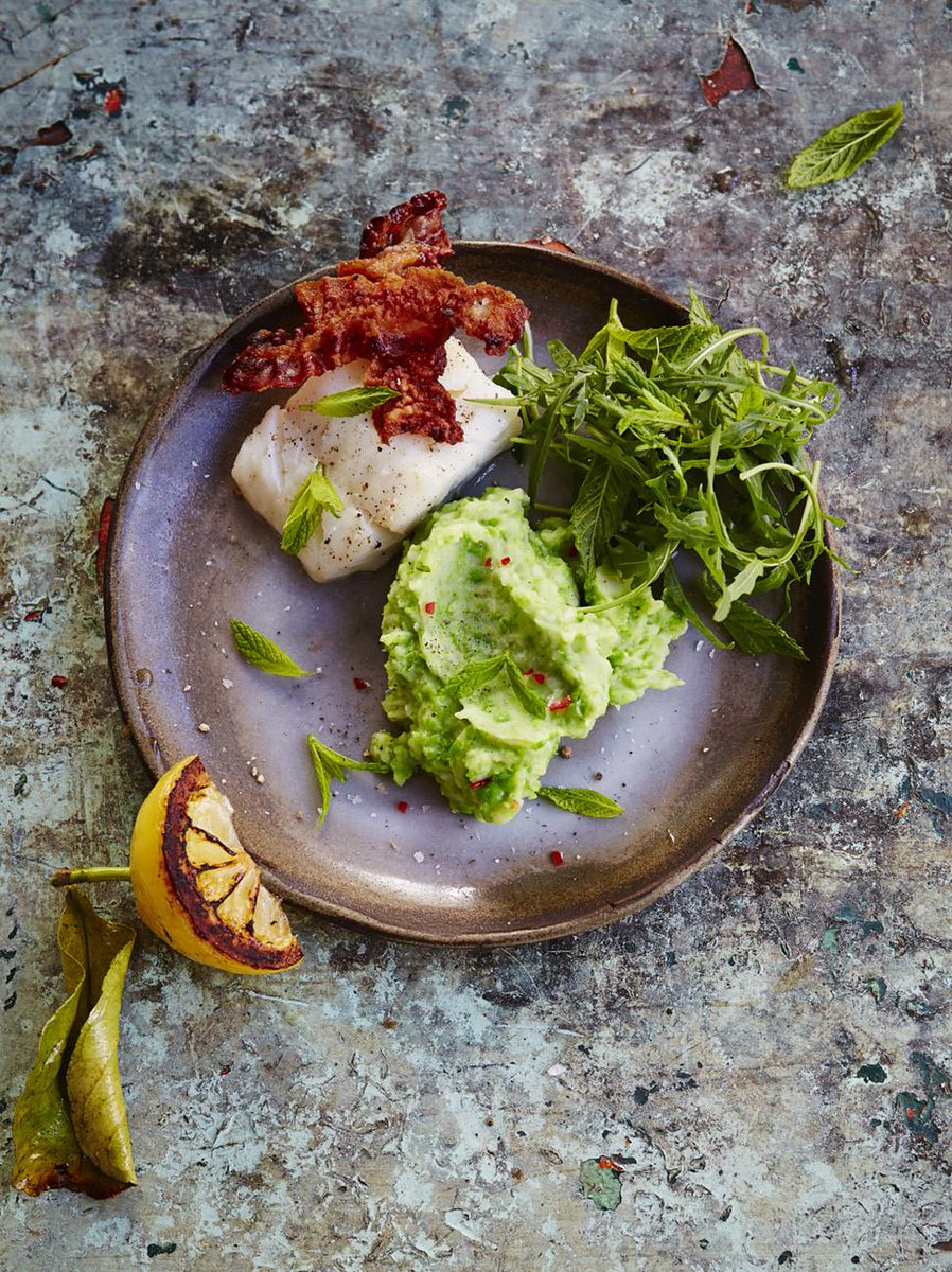 Happy Friday guys #Recipeoftheday is my grilled cod with pancetta & pea mash. quick & simple! http://t.co/Dp9AY5RBtu http://t.co/9DMivKPSeb