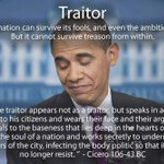 TexasLiberty15: RT WAGNERGIRLE: Definition of Traitor: Barack Obama #WakeUpAmerica #tcot http://t.co/G2Xess869O … http://t.co/6Vktp5EZ6c