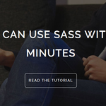 Use Sass Within Minutes http://t.co/Dk1OVdsyoa http://t.co/q4eBjuzEwr