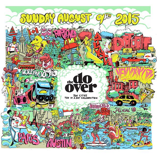 Sunday August 9th: The Do-Over  10 Cities | 10 In A Day Celebration  10 Years In The Making  http://t.co/yRUN8mWPZY http://t.co/sW9HgHsGwy