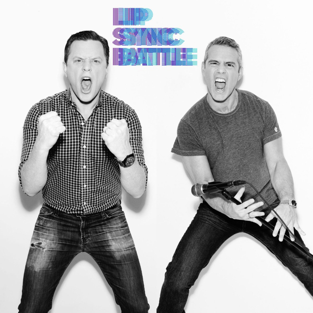 The battle is on this week. @TheTodayShow's @WillieGeist takes on @BravoWWHL's @Andy. http://t.co/o36P3MLdJI