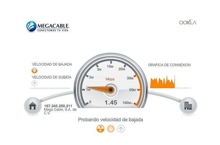 A esto se refiere @Megacable cuando dice que te da 20Mb. Y eso es rápido. Anoche tenía 0.3Mbps /cc@AyudaMegacable http://t.co/gsyn1BYfWs