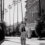 We shot this @VogueSpain shoot at my fave hotel the Beverly Hills Hotel! Pajamas and all.... http://t.co/CXSezItlak