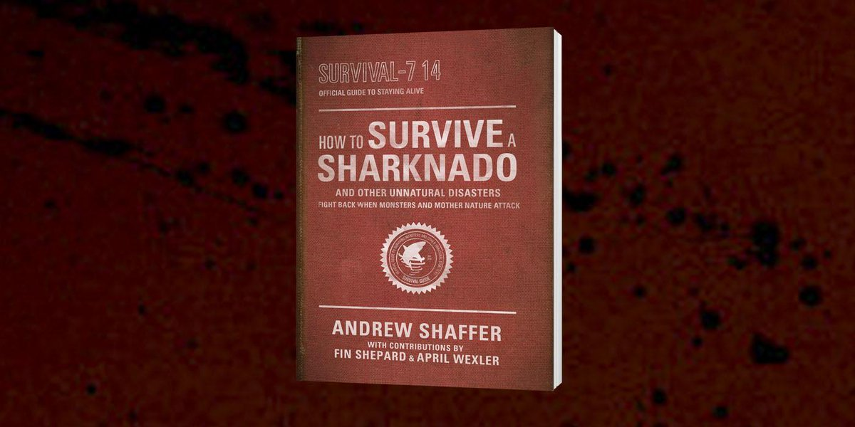 Retweet this to enter to #win the survival guide just in time for #Sharknado3! #ohhellno (1/2) http://t.co/MMhqjSndwF