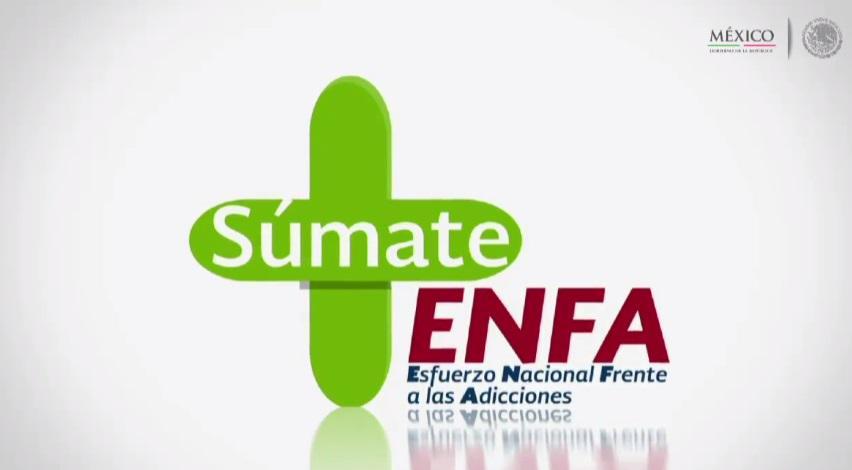 Present El Presidente EPN Esfuerzo Nacional Frente A Las Adicciones