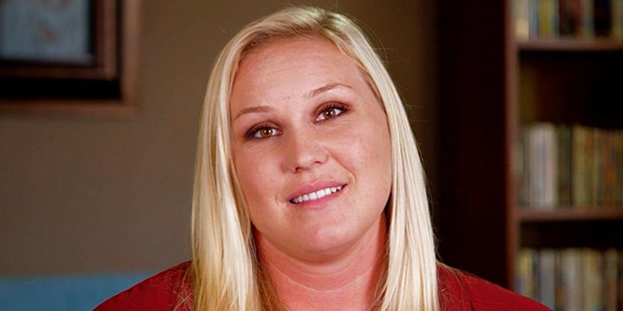 .@TLC's MyGiantLife star is a foot taller than her boyfriend, but that doesn't matter to them