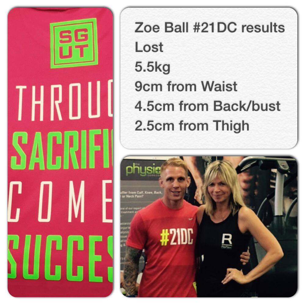 Thanks @ReflexNutrition for the #supplement support with #SGUT client @ZoeTheBall we got great results http://t.co/kwaDcey3qU