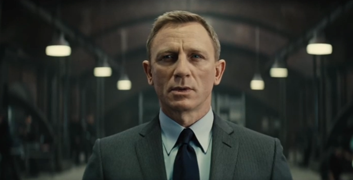 WATCH: New James Bond trailer for
