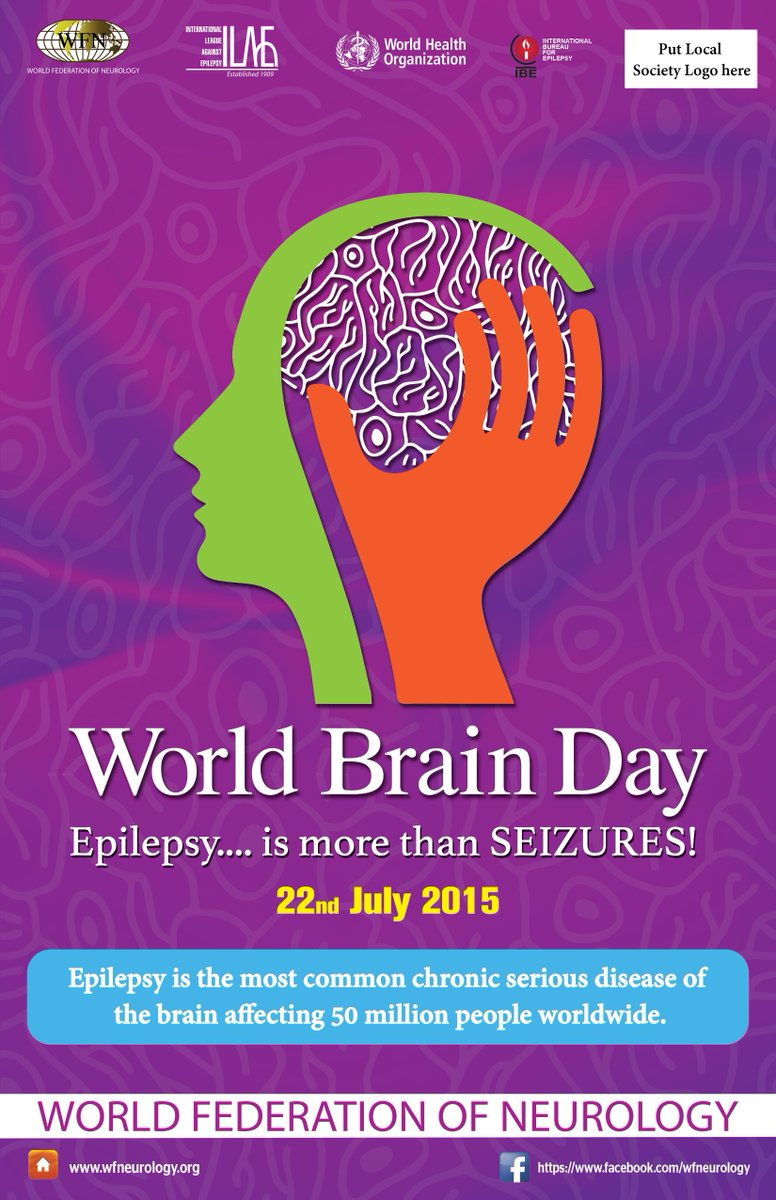 Today is #WorldBrainDay and the focus this year is on #epilepsy http://t.co/DZo128gf9R http://t.co/X5VVkcPoYU