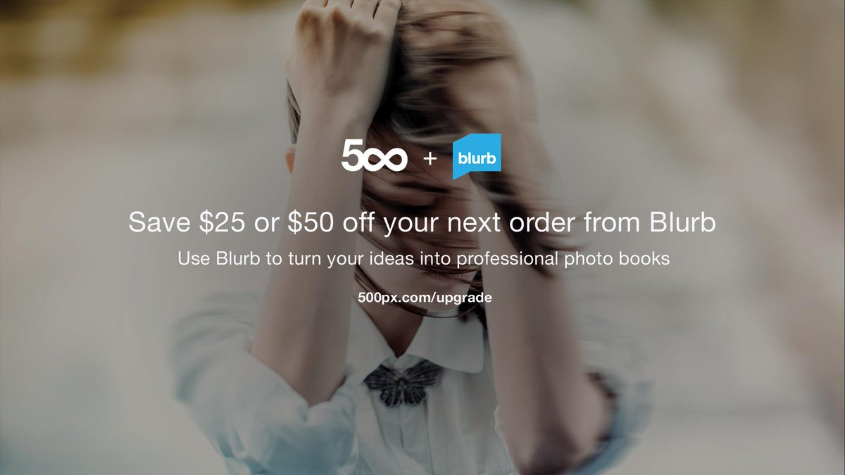 Hey friends, Get a 500px account and get $25 or $50 off your next book. https://t.co/jBWVlVDJTE http://t.co/D0lSNYPihk