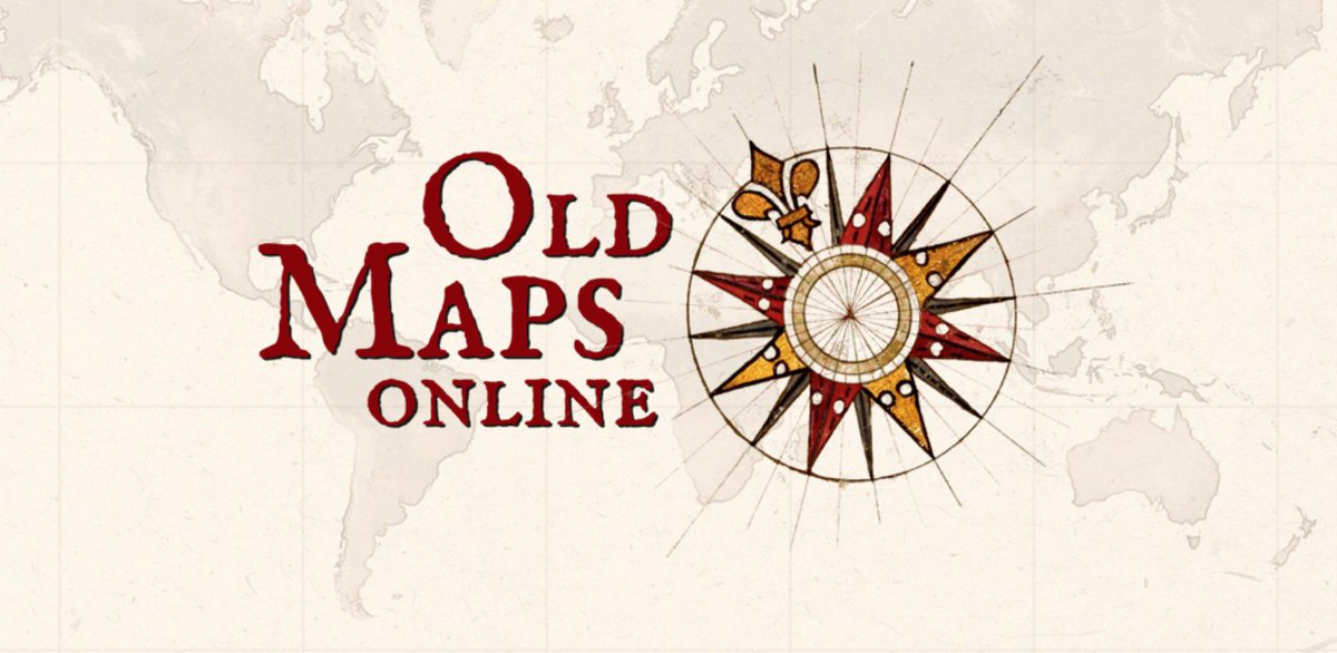Old Maps Online's new app lets you explore your surroundings while travelling back in time! http://t.co/aizx066Uny http://t.co/cv6gfbcRNE