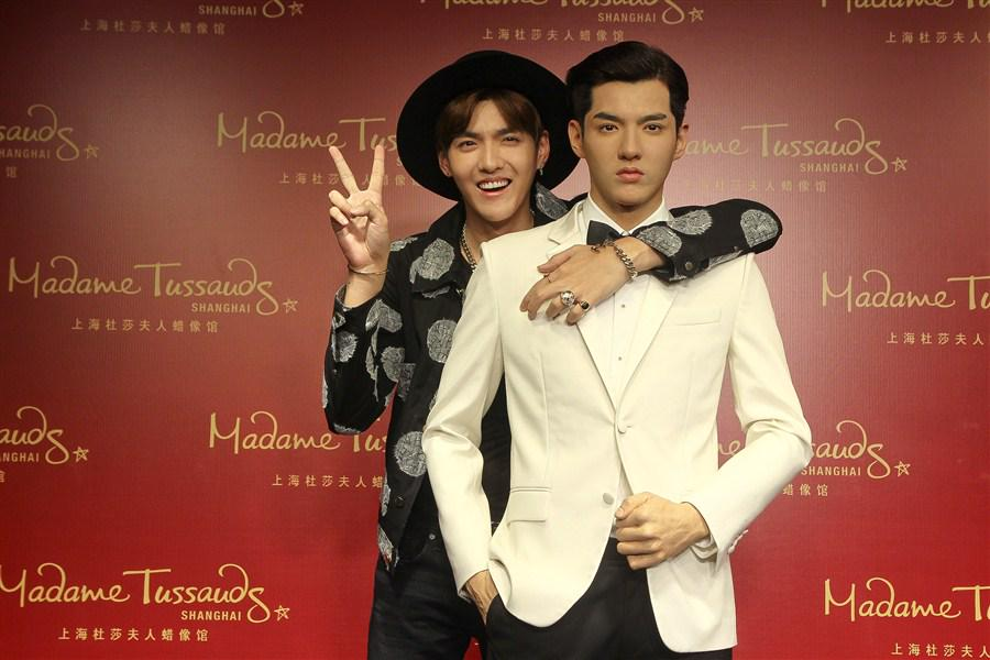 Wu Yifan's wax figure lands in Madame Tussauds Shanghai http://t.co/GwyVEJpK2j http://t.co/M98iY8L1yb