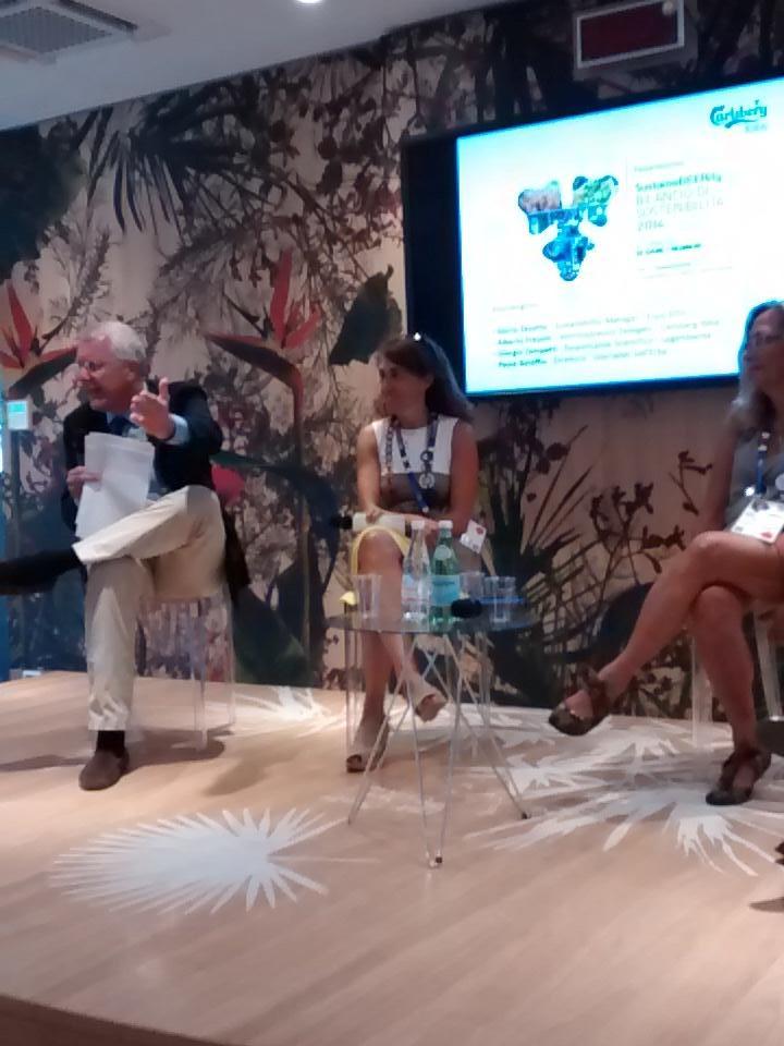 Come tradurre tema sostenibilità X nuove generazioni? @CarlsbergItalia ha affidato compito a #gnelab, spiega Frausin http://t.co/miebYPdgKv