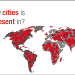 Tell us the number of cities where Wipro offices are located. Comment with the right answer below.