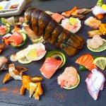must try! gorgeous customized sashimi platter @JaBistro222 #foodporn #foodie #jabistro #best #sushi #toronto #canada http://t.co/7jFryHaVIJ