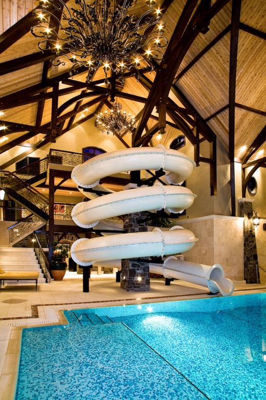 I want a mansion with a waterslide! http://t.co/2DxGlDUPdW
