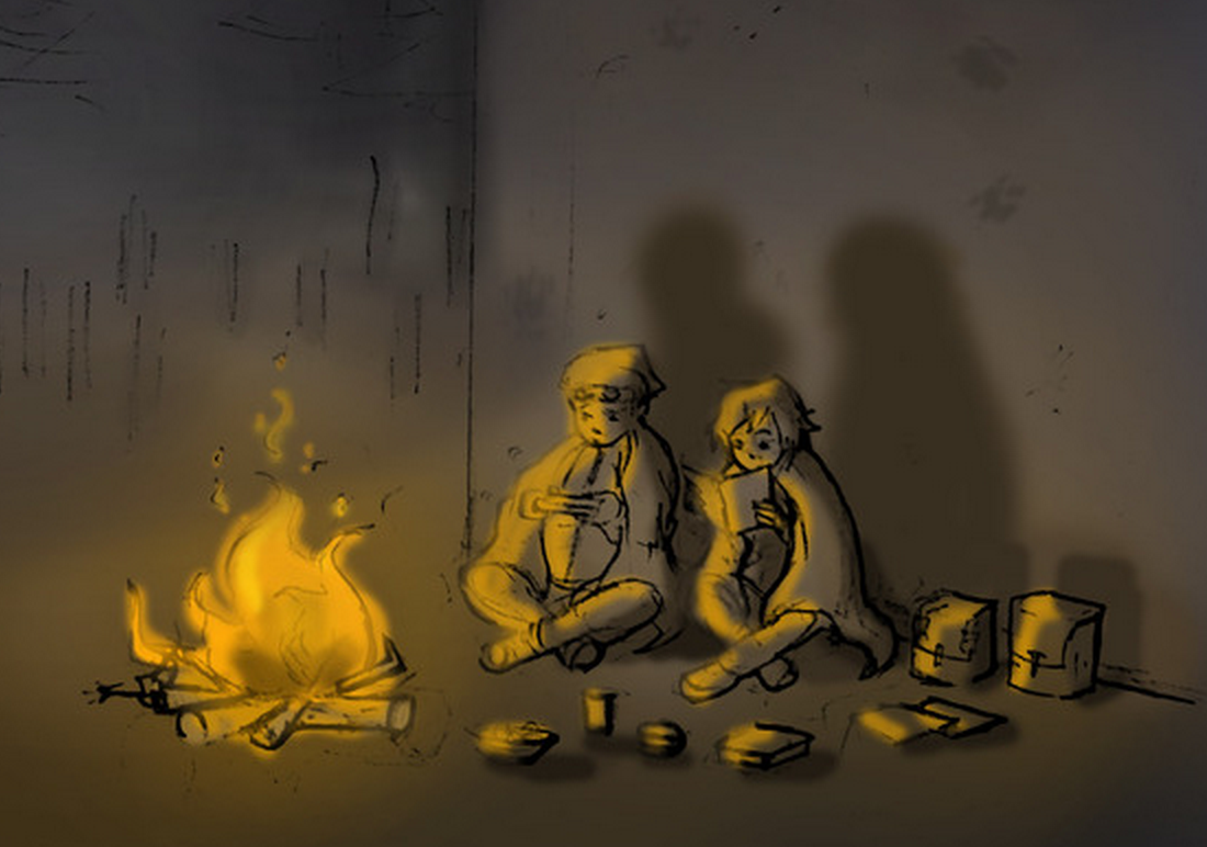 RT @hitRECord  Who's down to write some scary campfire stories? http://t.co/CLOea7Vixs #FindYourPark http://t.co/UJvs7rx4m0
